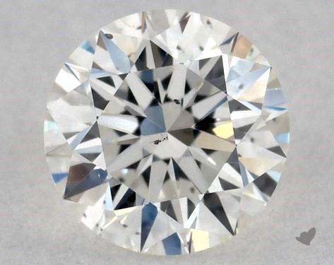 0.33 Carat H-SI1 Excellent Cut Round Diamond