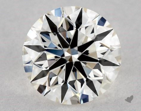 0.90 Carat J-VS1 Excellent Cut Round Diamond