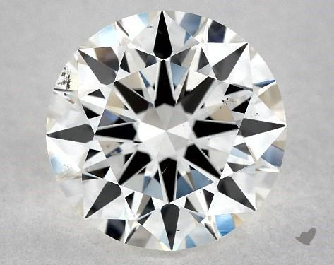 1.50 Carat H-SI1 Excellent Cut Round Diamond
