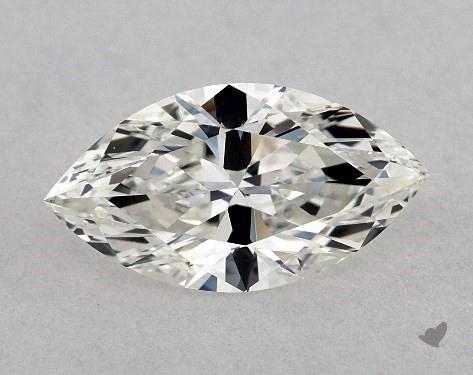 0.77 Carat I-VVS1 Marquise Cut Diamond