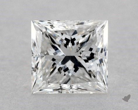 <b>0.39</b> Carat E-SI2 Princess Cut Diamond