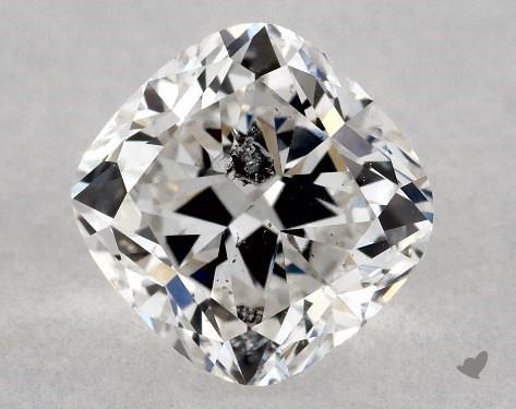 0.72 Carat E-I1 Cushion Cut Diamond