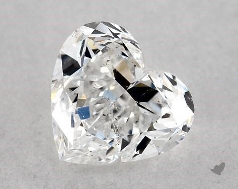 1.04 Carat D-SI1 Heart Shape Diamond