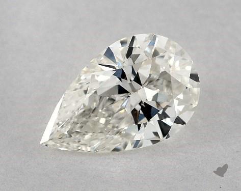0.81 Carat H-VS1 Pear Shape Diamond
