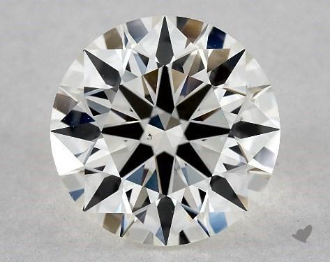 1.47 Carat I-VS2 True Hearts<sup>TM</sup> Ideal Diamond