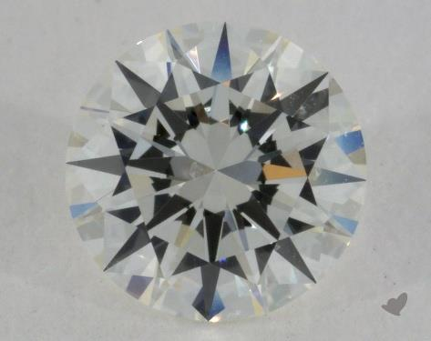 1.01 Carat I-SI1 Excellent Cut Round Diamond