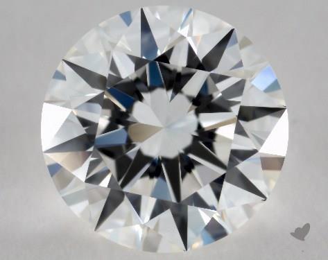 1.01 Carat F-IF Excellent Cut Round Diamond