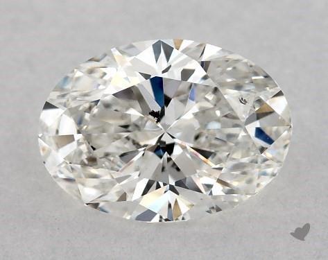 0.70 Carat F-SI2 Oval Cut Diamond