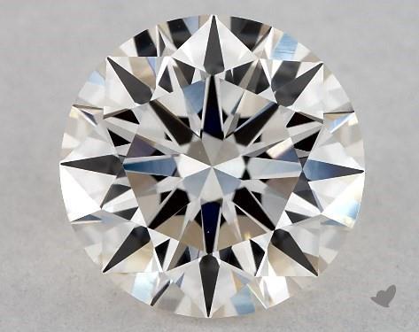 1.00 Carat J-VVS2 Excellent Cut Round Diamond