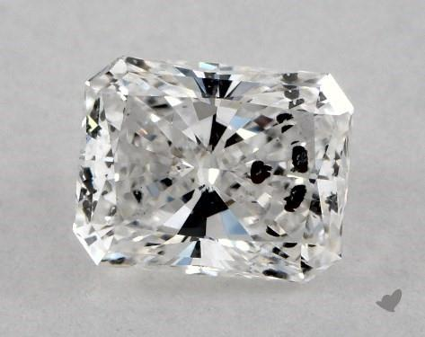 0.79 Carat E-I1 Radiant Cut Diamond