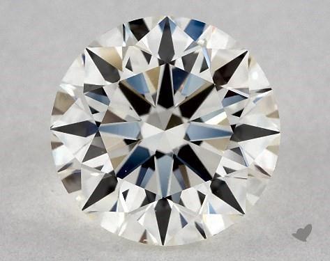 0.96 Carat J-VS1 Excellent Cut Round Diamond