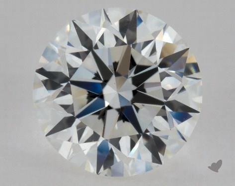 1.01 Carat H-VVS2 Excellent Cut Round Diamond