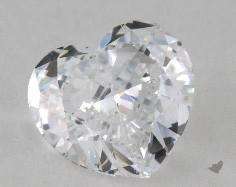 1.51 Carat D-SI1 Heart Shape Diamond