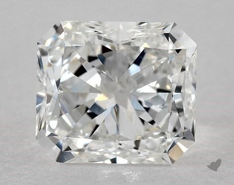 2.02 Carat F-VS1 Radiant Cut Diamond