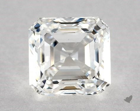 1.81 Carat F-VS1 Square Emerald Cut Diamond