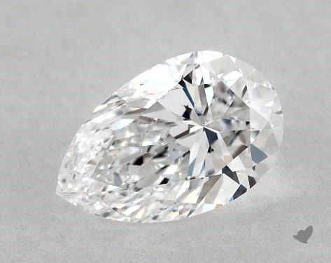 0.61 Carat D-VS1 Pear Shape Diamond