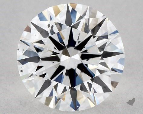 0.88 Carat D-SI2 Excellent Cut Round Diamond