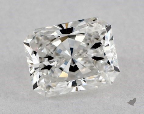 <b>0.50</b> Carat F-SI2 Radiant Cut Diamond
