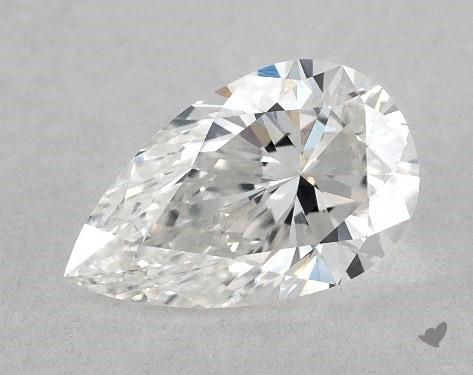 0.60 Carat E-VS2 Pear Shape Diamond