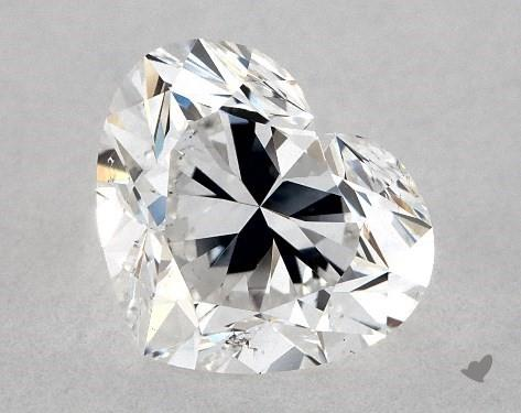 1.01 Carat E-SI1 Heart Shape Diamond