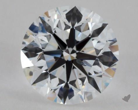 1.00 Carat E-SI2 Excellent Cut Round Diamond