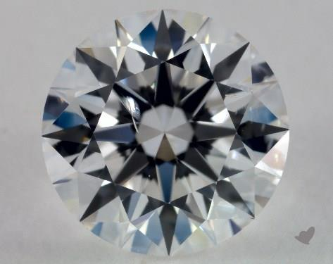 1.00 Carat F-SI1 Excellent Cut Round Diamond