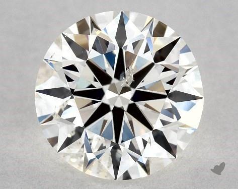 1.20 Carat I-I1 Excellent Cut Round Diamond