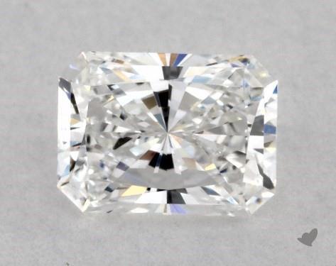 0.50 Carat E-VVS2 Radiant Cut Diamond