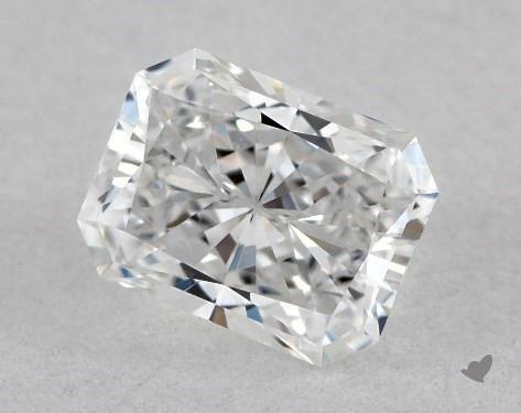 <b>0.52</b> Carat D-VVS1 Radiant Cut Diamond