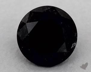 round1.23 Carat Black