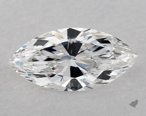 0.71 Carat E-SI1 Marquise Cut Diamond