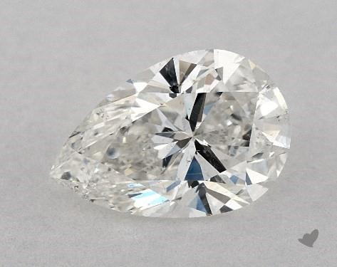 1.01 Carat G-SI1 Pear Shape Diamond