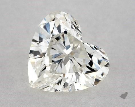 1.02 Carat H-SI1 Heart Shape Diamond