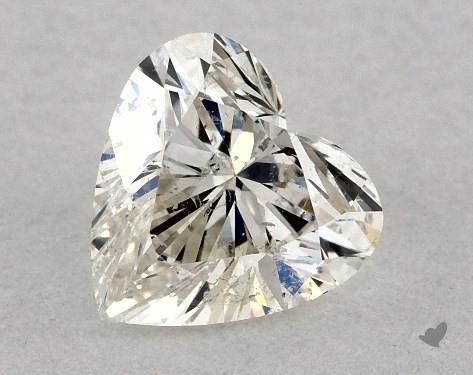 0.48 Carat I-SI2 Heart Shape Diamond