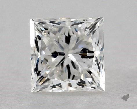 0.77 Carat H-VS2 Ideal Cut Princess Diamond
