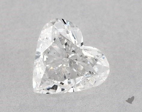 0.50 Carat D-I1 Heart Shape Diamond