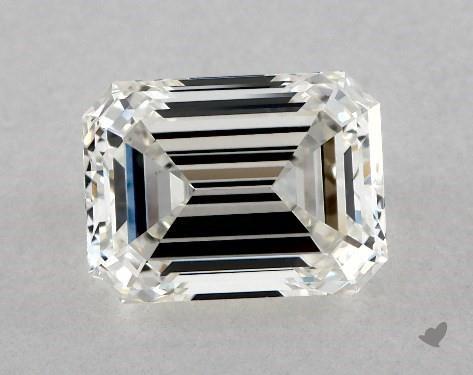 2.63 Carat H-VS1 Emerald Cut Diamond