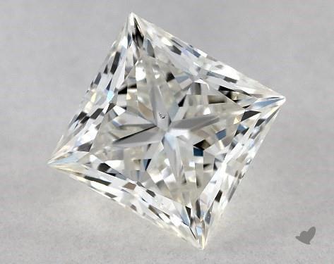 0.81 Carat J-VS2 Ideal Cut Princess Diamond