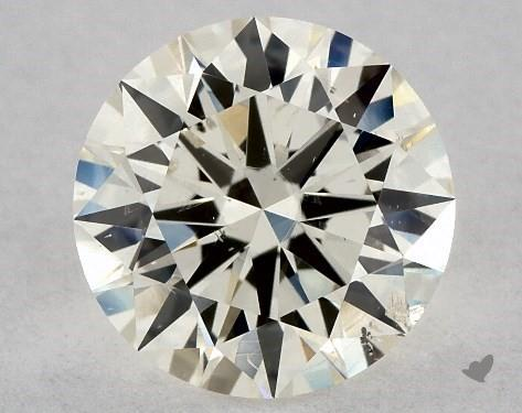 1.00 Carat J-SI2 Excellent Cut Round Diamond