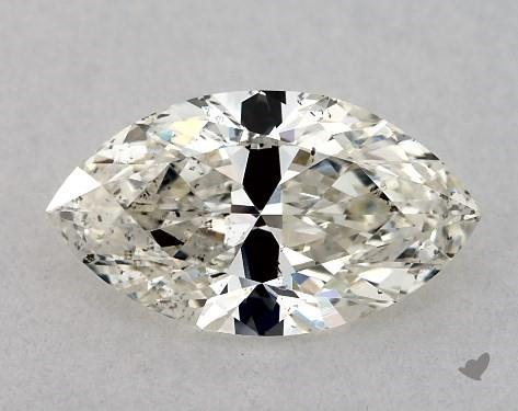 0.70 Carat J-SI1 Marquise Cut Diamond