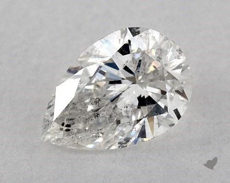 0.70 Carat F-I1 Pear Shape Diamond