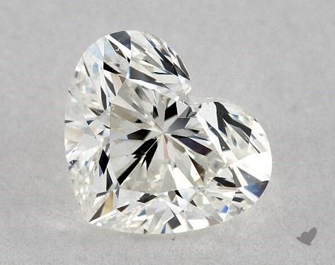 0.70 Carat H-VS2 Heart Shape Diamond