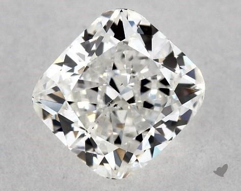 0.70 Carat G-SI1 Cushion Cut Diamond