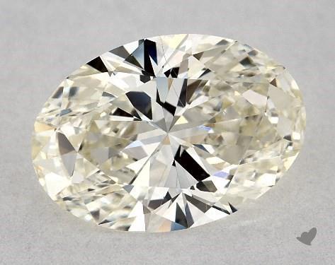 1.22 Carat J-VS1 Oval Cut Diamond