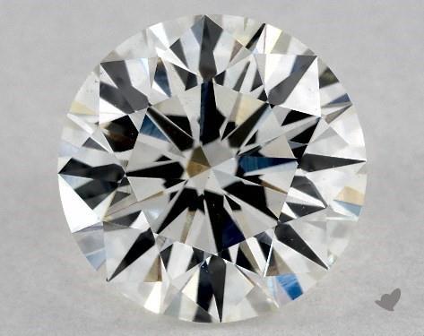 2.14 Carat I-VS2 Excellent Cut Round Diamond
