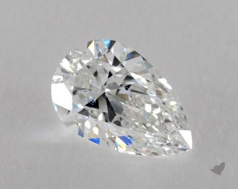 1.80 Carat F-SI1 Pear Shape Diamond