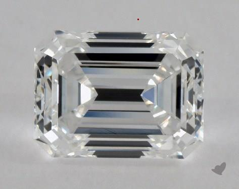 0.70 Carat E-VVS2 Emerald Cut Diamond