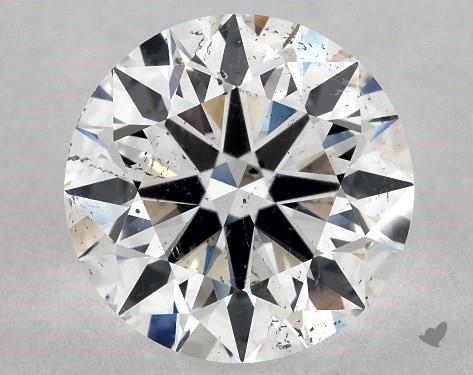 1.50 Carat E-SI2 Excellent Cut Round Diamond