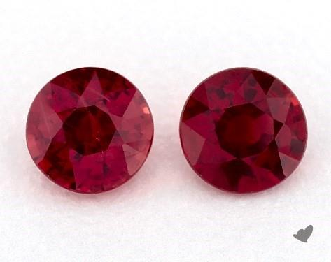 <b>1.11</b> Total Carat Weight Round Natural Rubiess