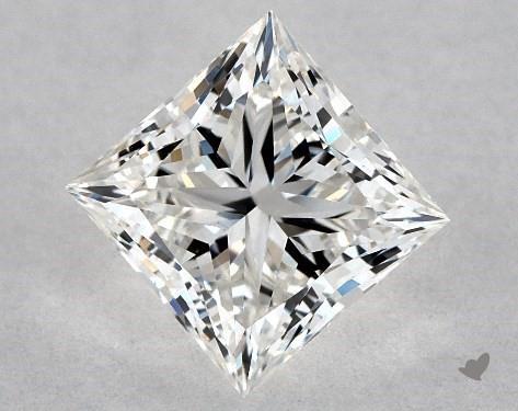 1.08 Carat G-VVS1 Ideal Cut Princess Diamond